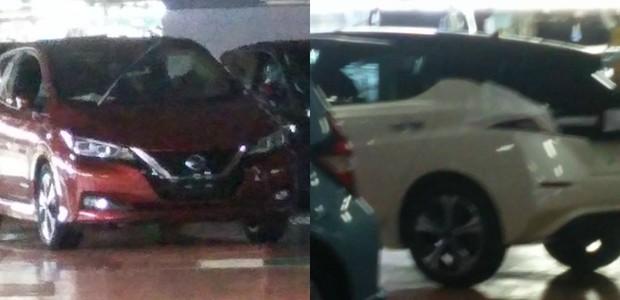 Imagens vazadas do novo Nissan Leaf  (Foto: Reprodução/Internet)