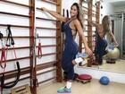 Mayra Cardi mostra segredo do corpo ideal: malhação e dedicação: 'O que me proponho a fazer, faço direito'