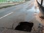 Chuva e vandalismo podem ser causa de buraco na BR-230 na PB, diz Dnit