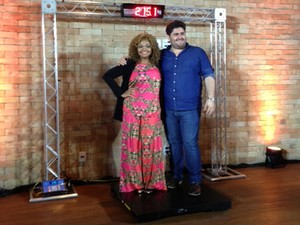 Gaby Amarantos e César Menotti (Foto: Rede Globo)
