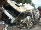 'Carro de família morta carbonizada invadiu faixa contrária', diz delegado