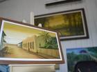 Pintor de quadros em miniatura exporta produção para Austrália
