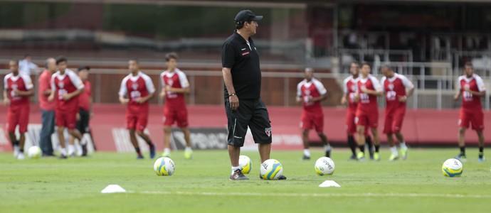 Grupo São Paulo treino jogadores São Paulo Muricy (Foto: Miguel Schincariol / saopaulofc.net)