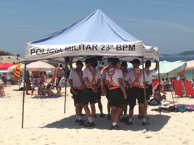Resultado de imagem para Policiais do 23ºBPM Rio de janeiro