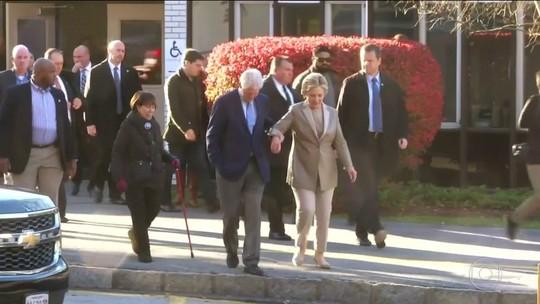 Hillary desiste de ir a Centro de Convenções se juntar a democratas