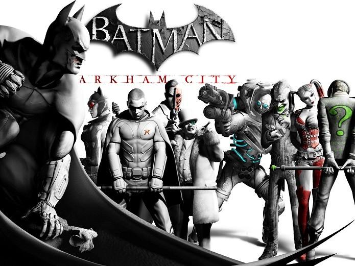 Batman: Arkham City será um dos games gratuitos de abril da PS Plus. (Foto: Divulgação)