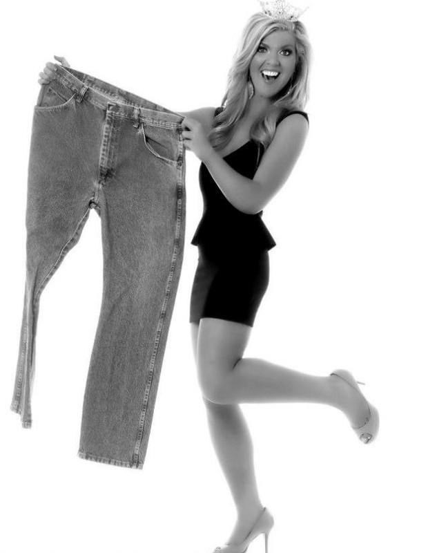 Keli Kryfko - ex-gordinha decide perder peso depois de bullying na infância (Foto: Chris Bulter)