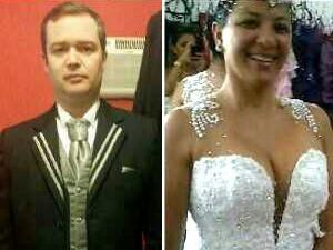 Noivo Américo Brasiliense morto casamento (Foto: Renata Rocha/Arquivo pessoal)