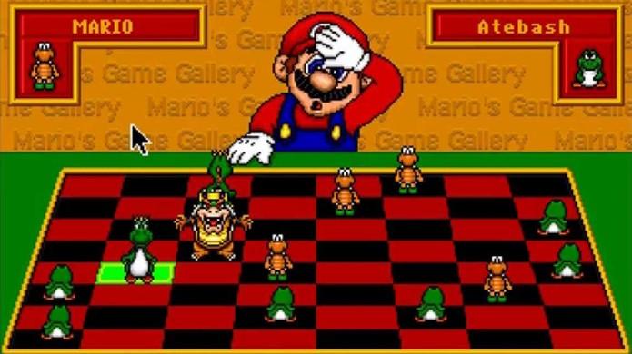 Marios Game Gallery permitia enfrentar Mario em alguns jogos divertidos (Foto: Reprodução/YouTube)