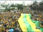 Manifestantes fazem atos contra o governo de Dilma Rousseff, em Goiás