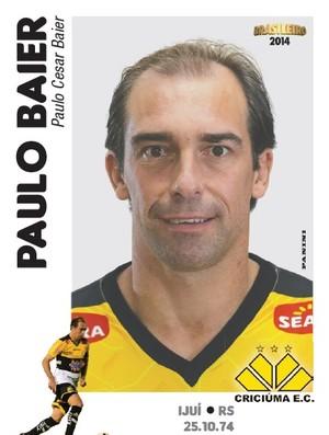 Paulo Baier - figurinhas do Brasileirão 2014