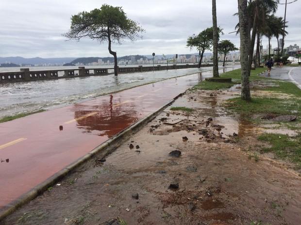 Agitação continuará a subir e atingirá o ápice no sábado (29) (Foto: Solange Freitas/G1)