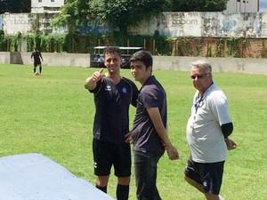 Eduardo Ramos meia do Remo (Foto: Nelson Torres)