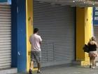 Comércio de Botucatu fica fechado por determinação da Justiça