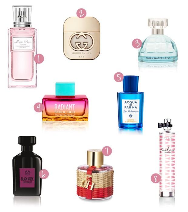 Perfumes (Foto: Divulgação)