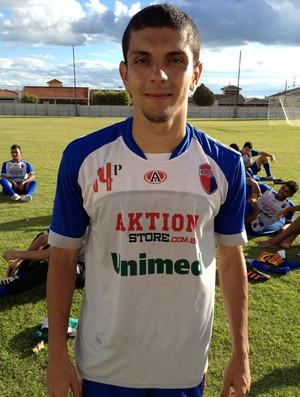 Emerson Santos do Grêmio Prudente (Foto: João Paulo Tilio / Globoesporte.com)