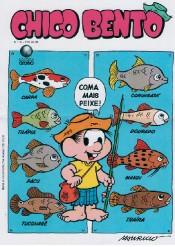 O GIBI QUE NUNCA SAIU A capa feita por Mauricio em meados dos anos 1980, para o projeto de piscicultura (Foto: Reprodução)