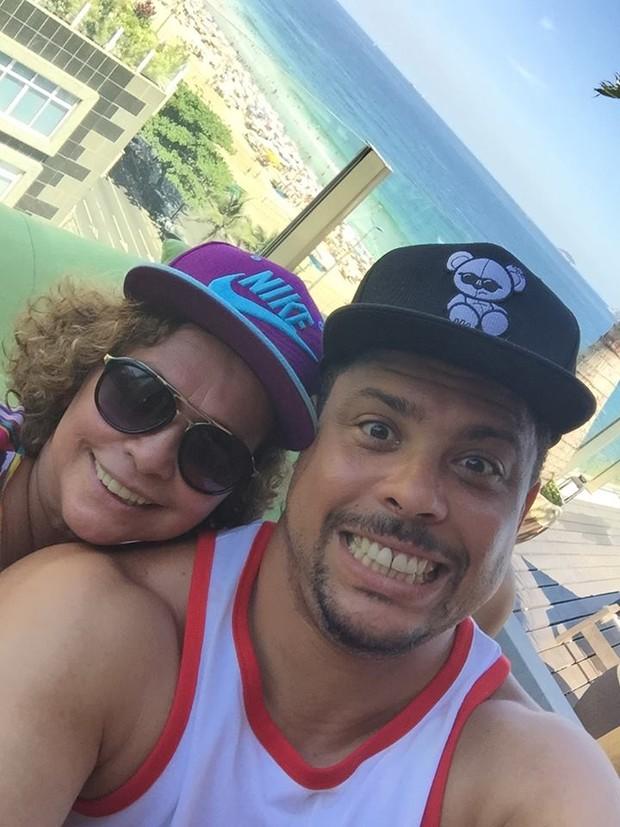 Ronaldo e Dona Sônia (Foto: Reprodução/Reprodução)