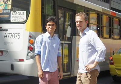 O aplicativo usa os dados de GPS da frota de ônibus  (Foto: Divulgação)