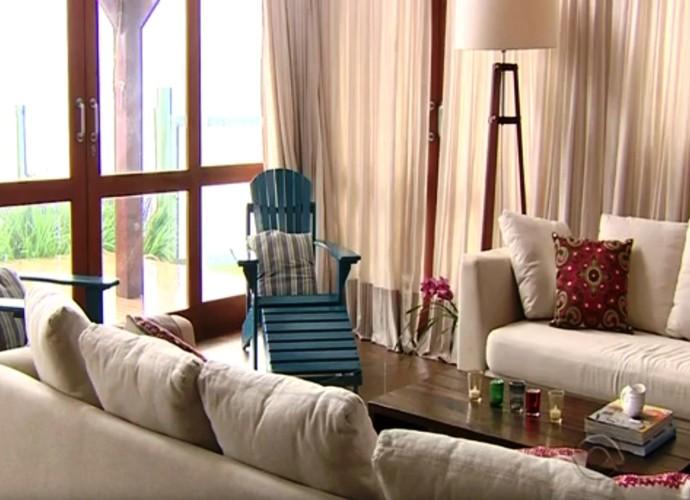 Arquiteta sugere uso de materiais de fácil limpeza  (Foto: RBS TV/Divulgação)