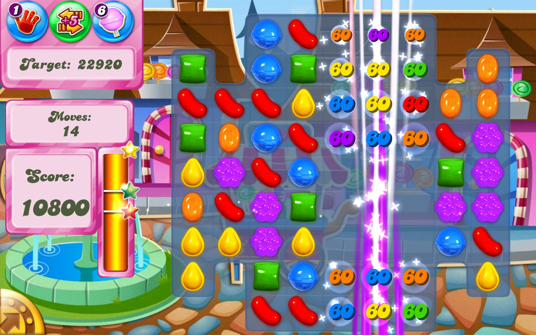 Candy Crush, o jogo mais baixado da história do Google Play (Foto: Reprodução/Youtube)