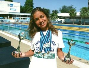 Mariana Alves com prêmios (Foto: Arquivo Pessoal)