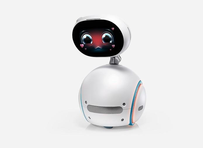 O Zenbo é capaz de simular emoções humanas, como a tmidez (Foto: Divulgação/ASUS)