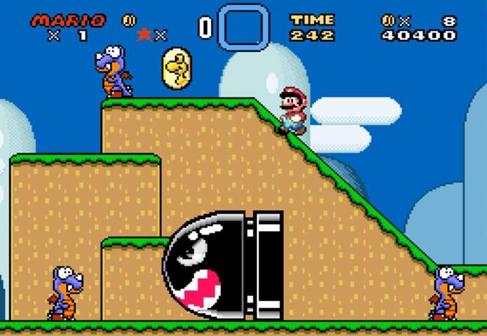 Jogar Super Mario World online é uma forma rápida de matar a nostalgia do Super Nintendo (Foto: Reprodução/Make Use Of)