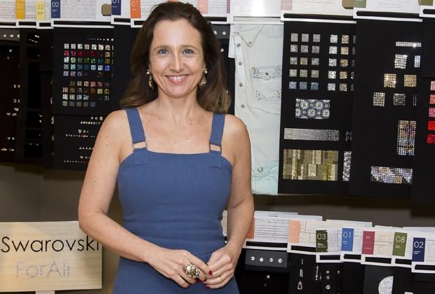 Mônica Orcioli, diretora da Swarovski (Foto: Rogério Canella)
