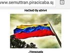 Hackers invadem sites da Prefeitura de Piracicaba e portal fica fora do ar