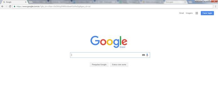 Abra o navegador Chrome (Foto: Reprodução/Camila Peres)