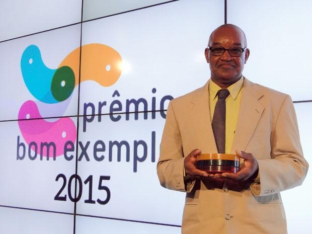 Sebastião Gonçalves é o vencedor da categoria Cidadania deste ano (Foto: Daniela Garcia/G1)