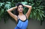Bia Marques, nova bailarina do 'Domingão', se inspira em Rihanna no dia a dia: 'Mulher maravilhosa'