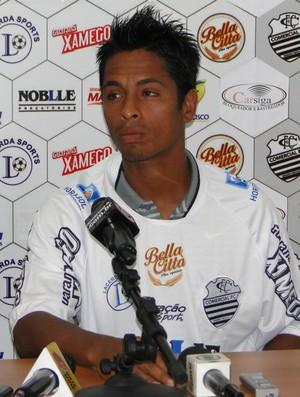 Thiago Silva, meia do Comercial (Foto: Gabriel Lopes / Comercial FC)