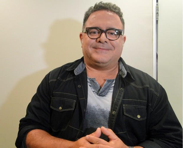 Leo Jaime acha a posição de jurado bem complicada (Foto: Domingão do Faustão / TV Globo)