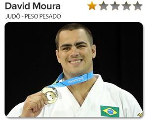 Peso do Ouro David Moura - Judô - Peso pesado (Foto: GloboEsporte.com)