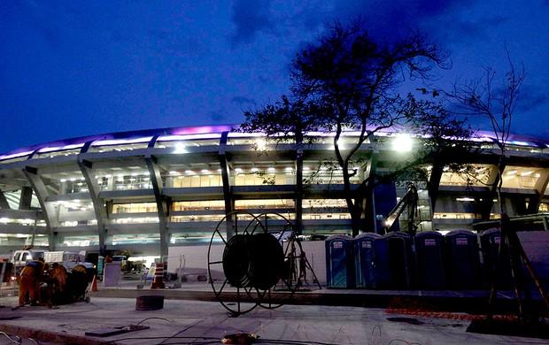 estádio Maracanã obras (Foto: Reuters)