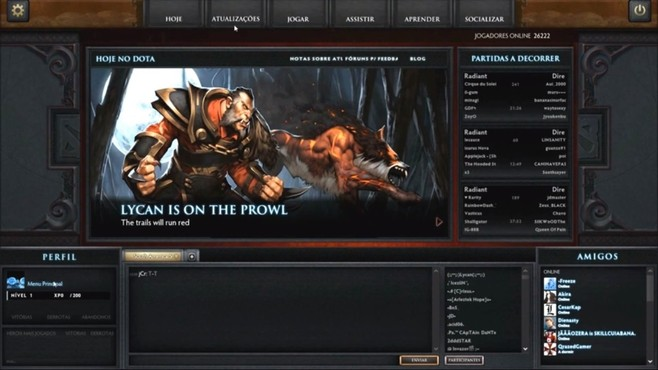 screenshot de DotA 2
