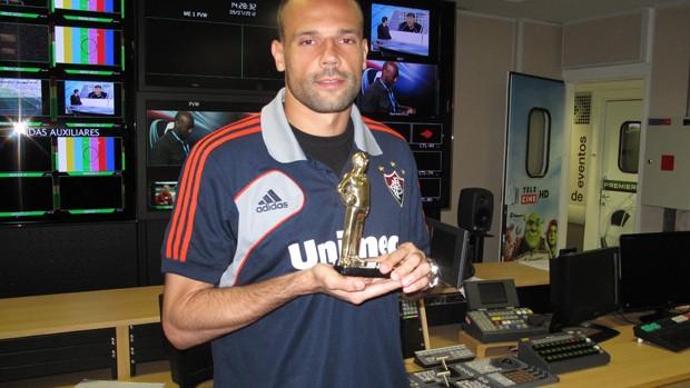 Diego Cavalieri Arena SporTV troféu Armando Nogueira (Foto: Luiz Guilherme Freitas)