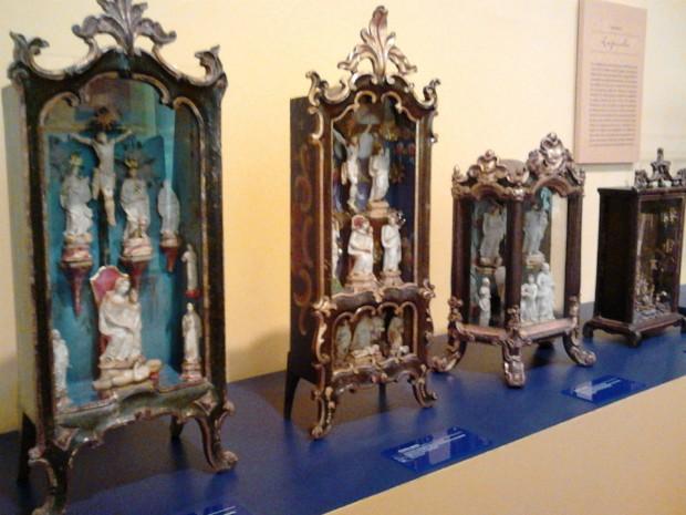 Oratórios exposição Tatuí (Foto: Cláudio Nascimento/TV Tem)