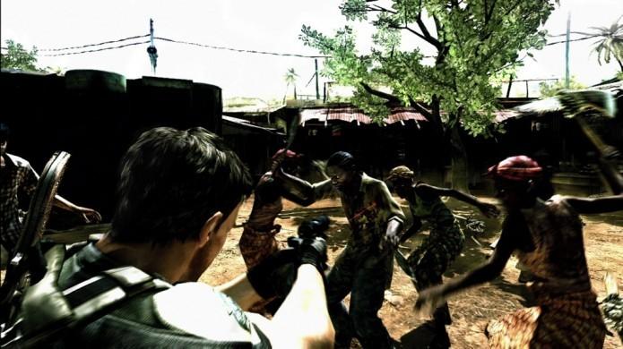 Resident Evil 5: game levava jogador a cidade na África (Foto: Reprodução/Softpedia)