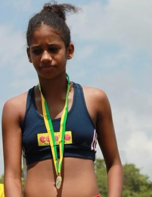 Lia Raquel, atletismo,Piauí (Foto: Náyra Macêdo/GLOBOESPORTE.COM)