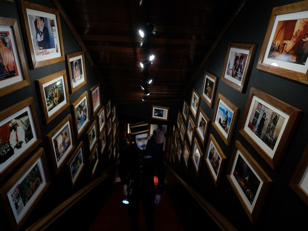 Tecnológico, mas com um acervo de mais de quatro décadas, museu é projeto inédito e único ligado a um Festival de Cinema no país. (Foto: Edison Vara/Pressphoto )