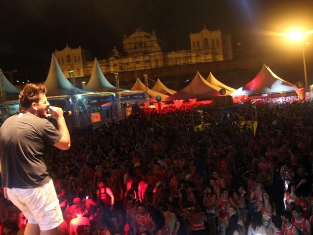 Apresentação musical durante o Hard Roça 2015 (Foto: Hard Roça/ Divulgação)