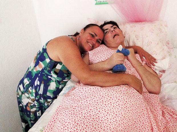 Jaine e Tatiana (Foto: Cristina Moreno de Castro)