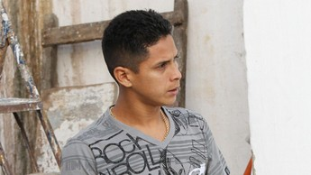Cléo, atacante do Treze (Foto: Leonardo Silva / Jornal da Paraíba)