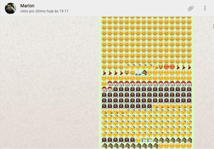 Bug no WhatsApp faz o mensageiro travar no celular de outra pessoa (Foto: Luciana Maline/TechTudo)