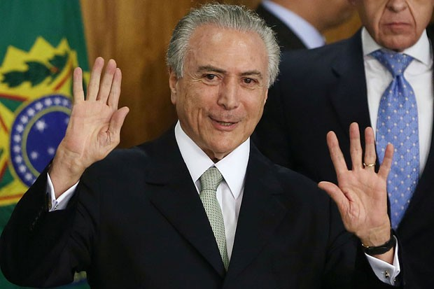 Michel Temer em 2016 (Foto: Mario Tama/Getty Images)
