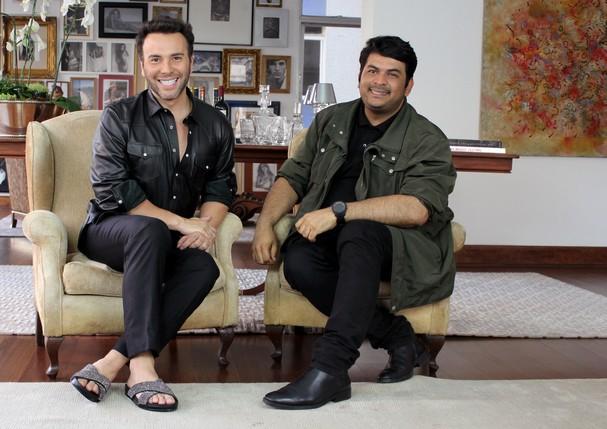 Matheus Mazzafera entrevista o stylist das famosas Dudu Farias. (Foto: Divulgação)