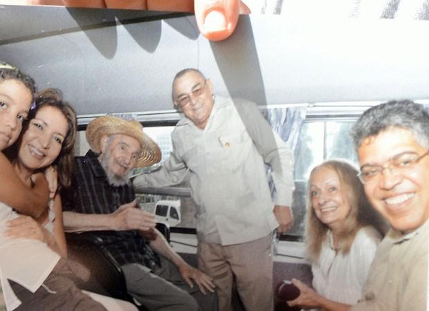 Segundo Elías Jaua, o líder cubano está 'muito bem de saúde'. (Foto: AFP)